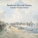 Omslag CD Beethoven Berwald Septets