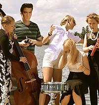 Medlemmarna i Fröken Elvis