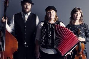 Bild på trion Tzeitel