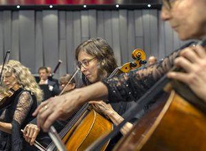 Cellisterna Sara Wik och Louise Agnani