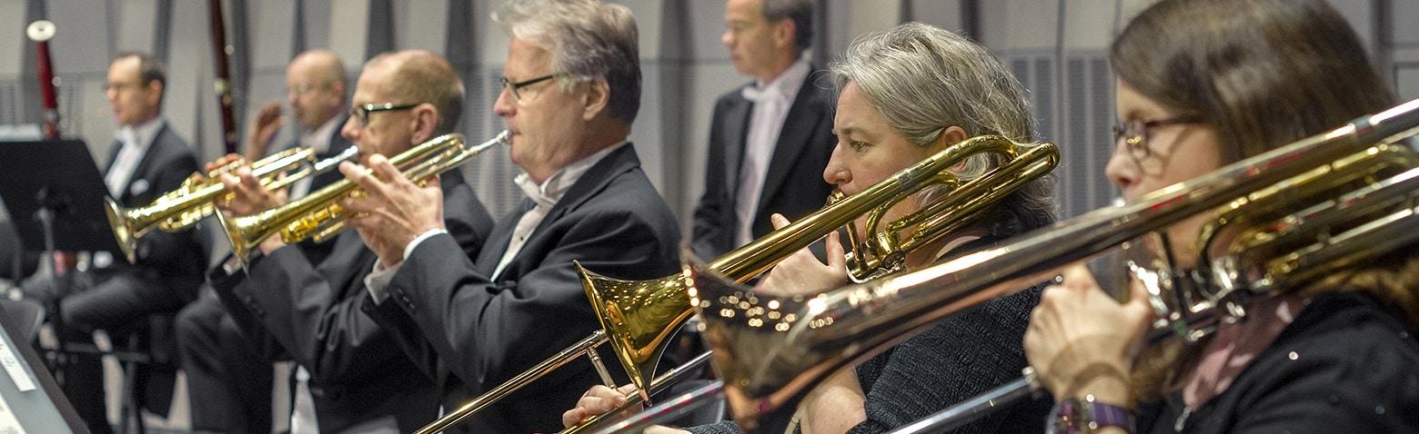 Upppsala Kammarorkesters brassektion