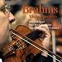 Omslag Uppsala Kammarorkesters cd Brahms