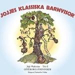 Bild på CD-omslag för Jojjes klassiska barnvisor.