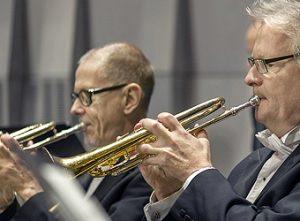 Paul Hägglöf, trumpet och Bengt Fageström, trumpet
