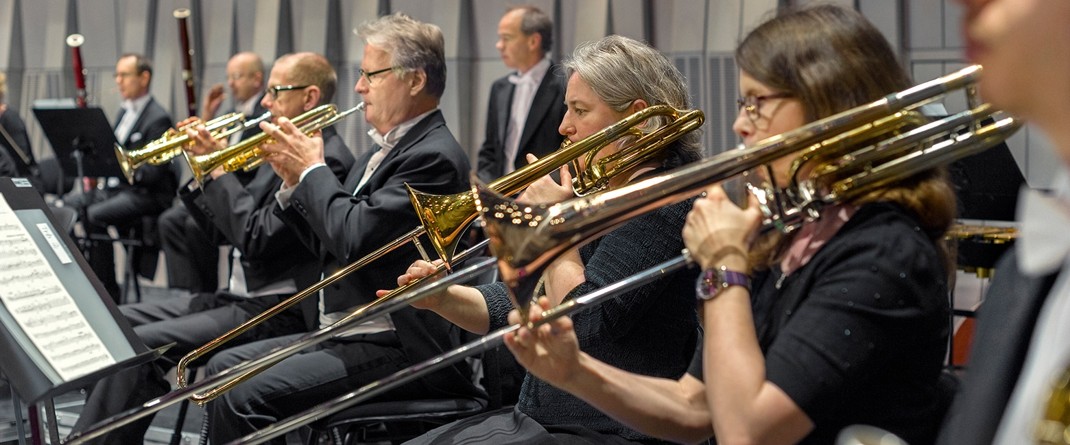 Uppsala Kammarorkester brassektion