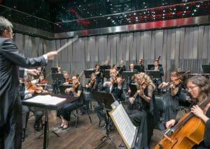 Uppsala Kammarorkester i stora salen