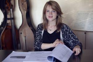 Tonsättaren Molly Kien