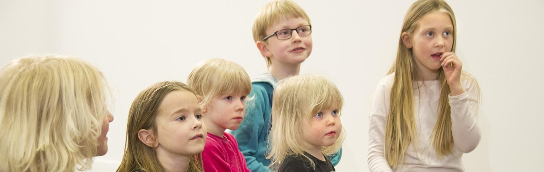 Publik med barn