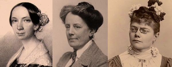Emilie Mayer, Ethel Smyth, Valborg Aulin