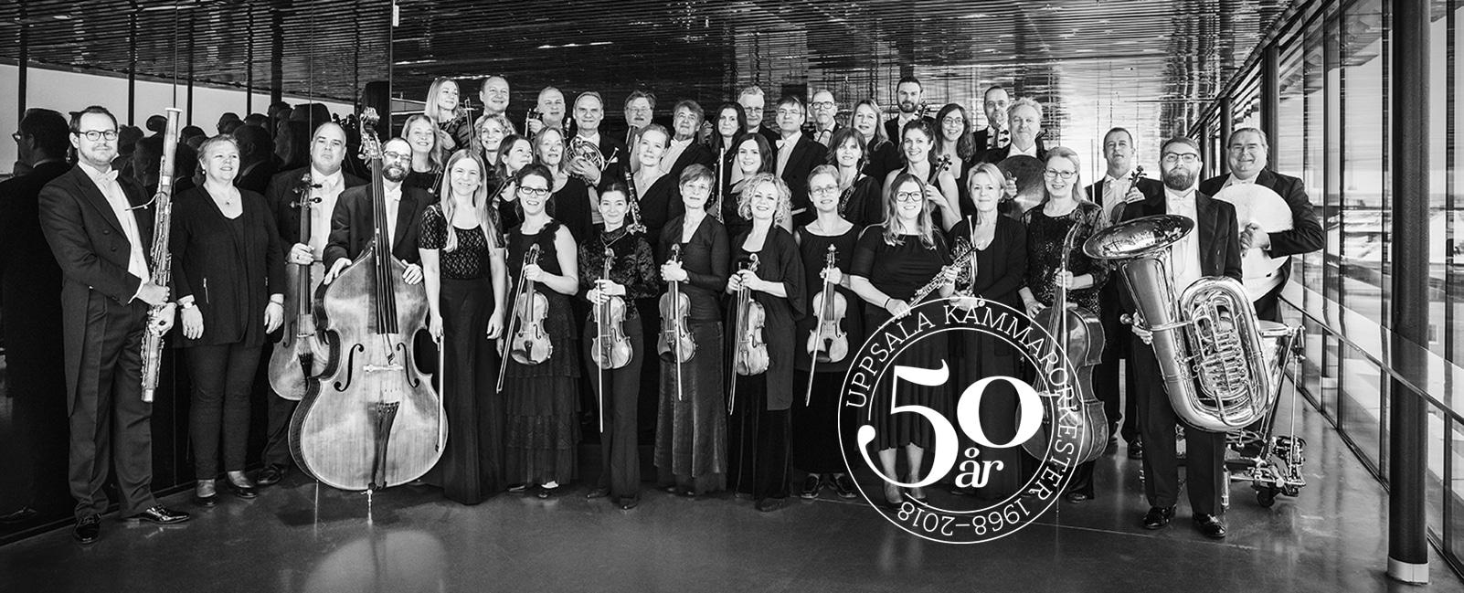 Uppsala Kammarorkester 50 års jubileum