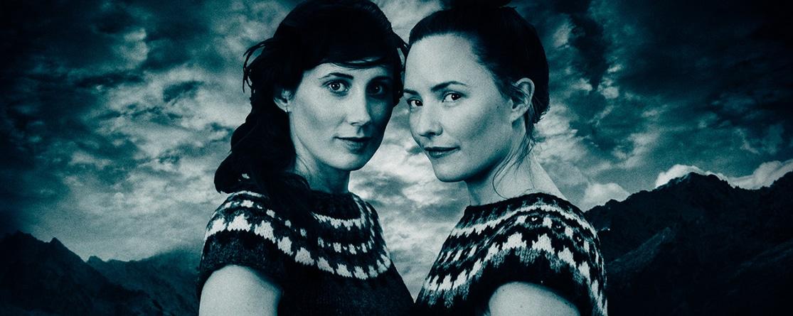Maja Långbacka och Matilda Bådagård