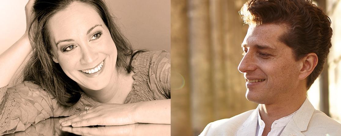Karolina Andersson och Adam Sanchez