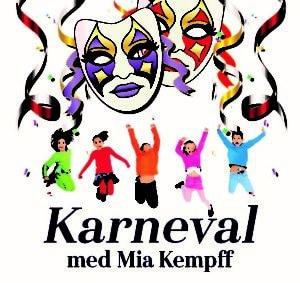 Affischbild på karneval