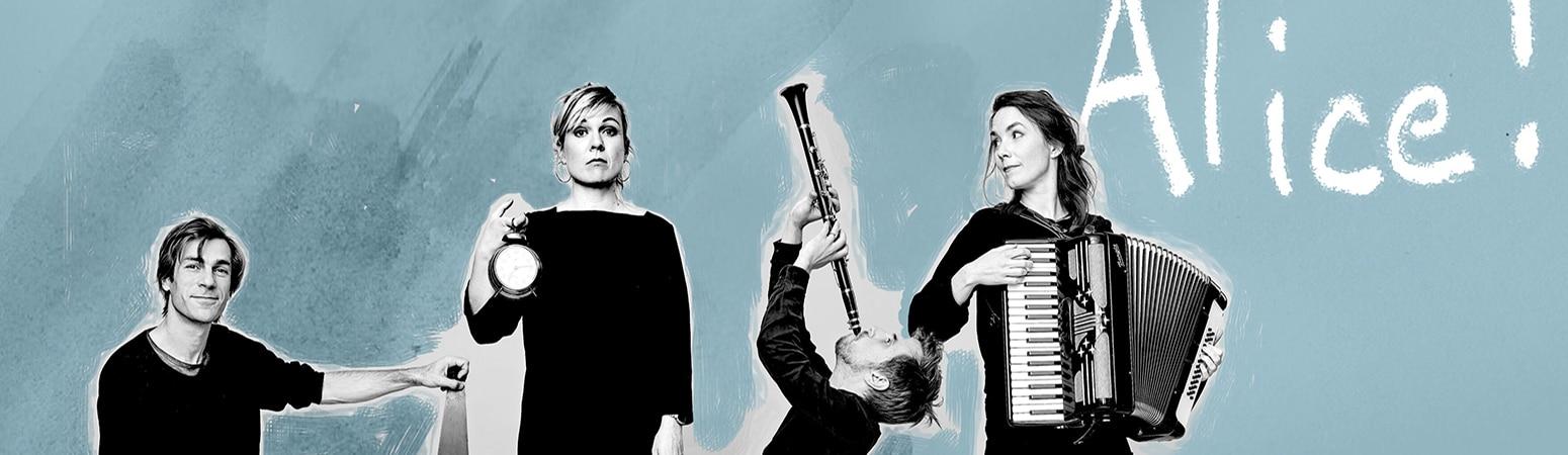 Fyra musiker i Alice
