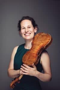 Malin Broman, violinist