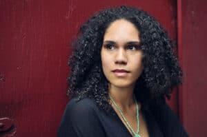 Porträtt av Jessie Montgomery, kompositör